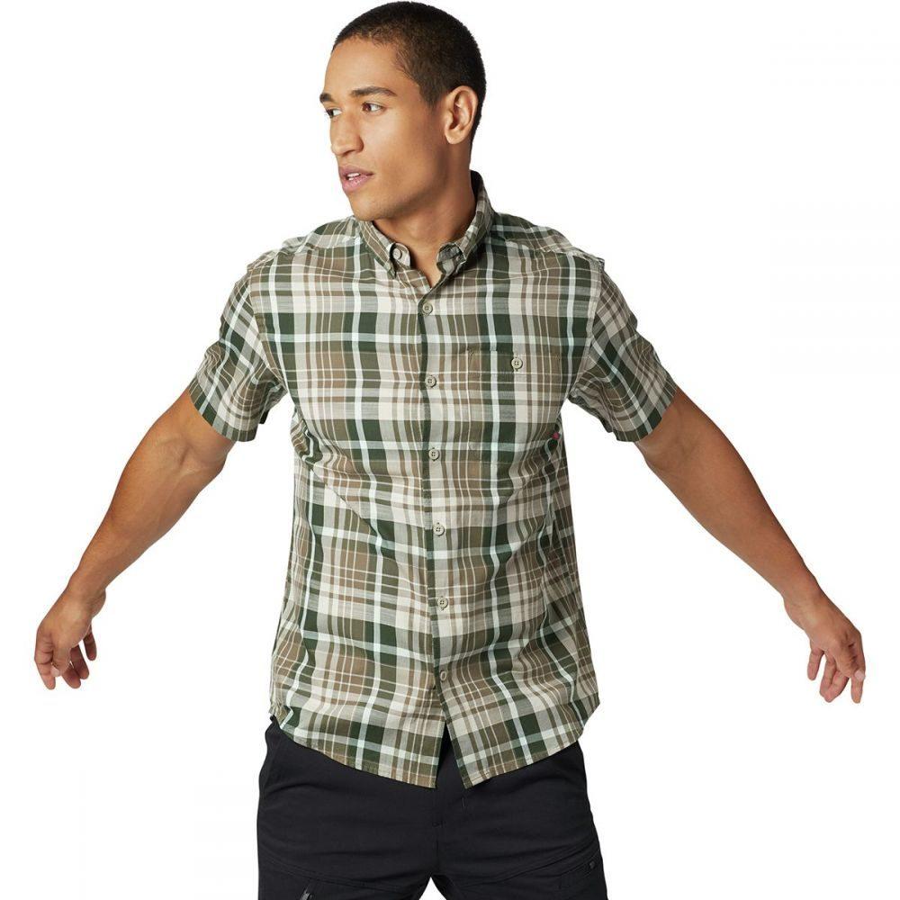 マウンテンハードウェア Mountain Hardwear メンズ トップス 半袖シャツ【Minorca Short-Sleeve Shirts】Darklands