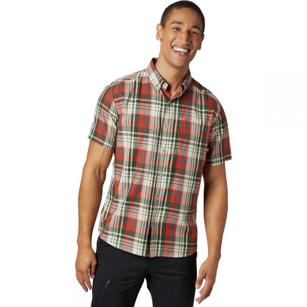 マウンテンハードウェア Mountain Hardwear メンズ トップス 半袖シャツ【Minorca Short-Sleeve Shirts】Dark Copper