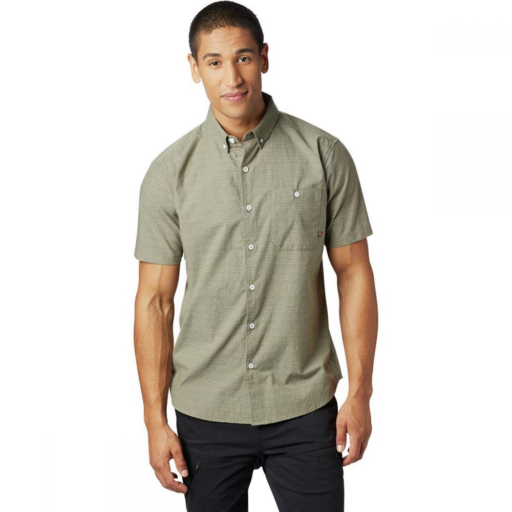 マウンテンハードウェア Mountain Hardwear メンズ トップス 半袖シャツ【Clear Creek Shirts】Light Army