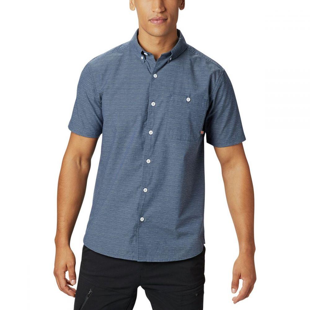 マウンテンハードウェア Mountain Hardwear メンズ トップス 半袖シャツ【Clear Creek Shirts】Zinc