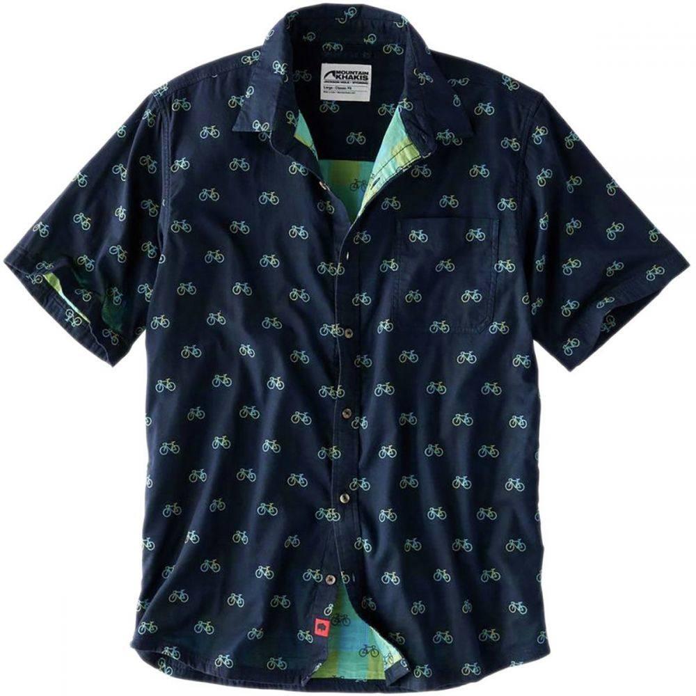 マウンテンカーキス Mountain Khakis メンズ トップス 半袖シャツ【Fixie Short-Sleeve Shirts】Twilight