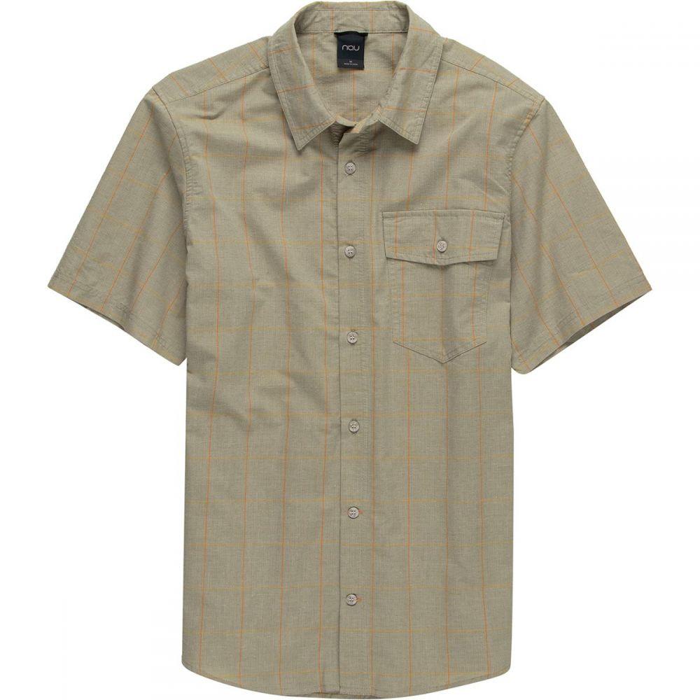 ナウ NAU メンズ トップス 半袖シャツ【Bloq Button Up Short-Sleeve Shirts】Sol Plaid