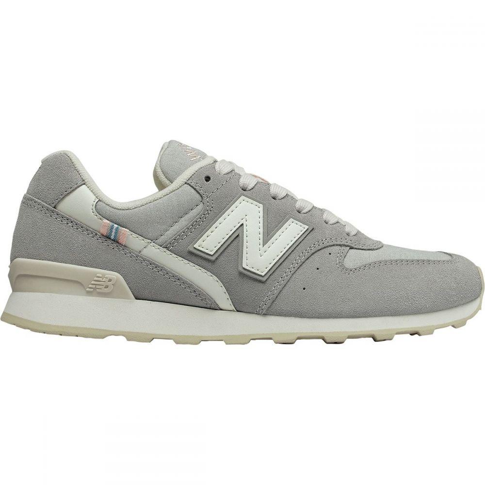 ニューバランス New Balance レディース シューズ・靴【696 Suede Shoe】Marblehead/White