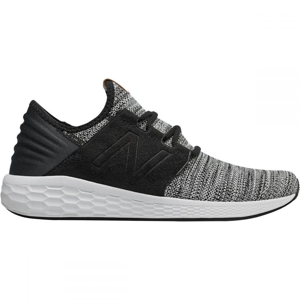 ニューバランス New Balance メンズ ランニング・ウォーキング シューズ・靴【Fresh Foam Cruz v2 Knit Running Shoes】White/Black