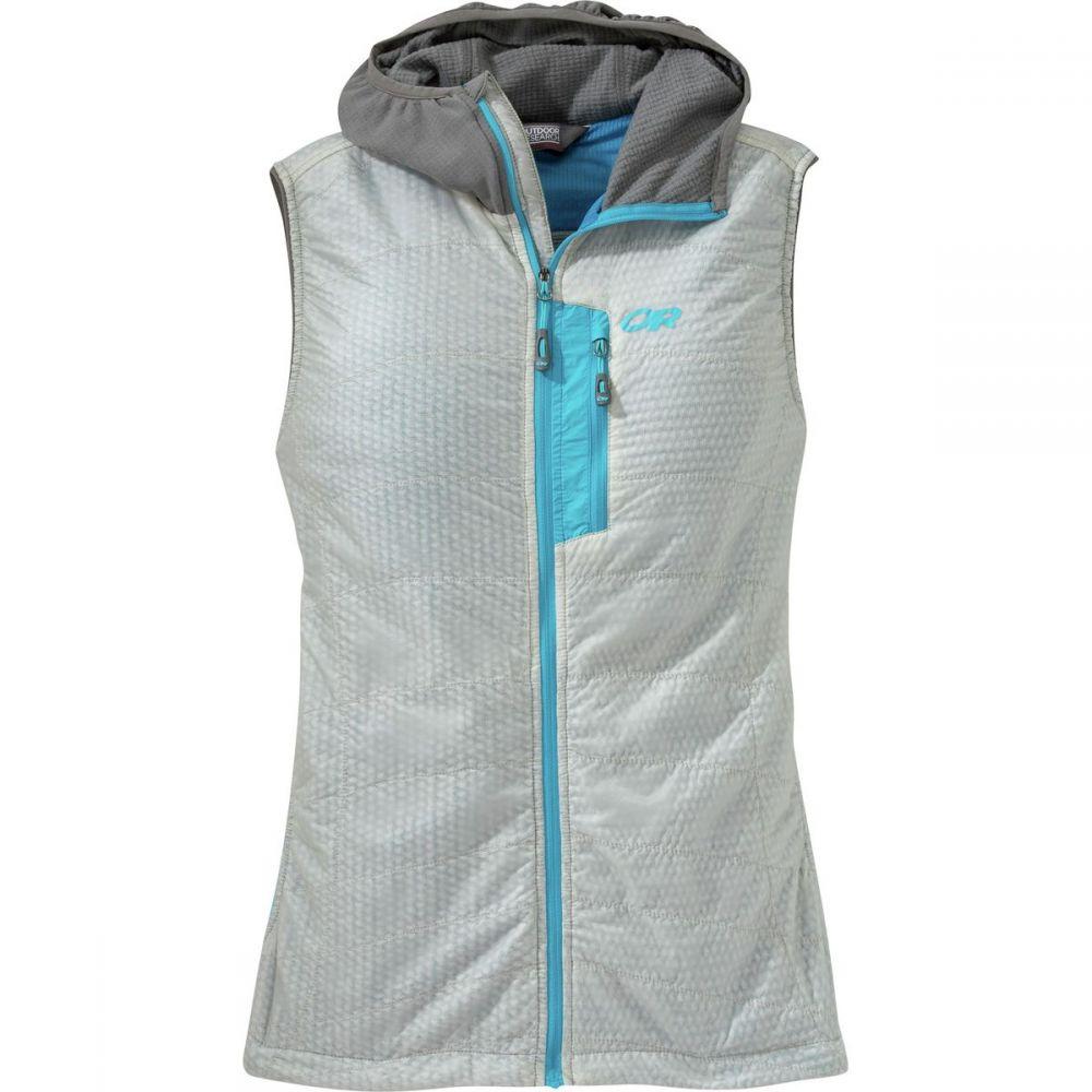 アウトドアリサーチ Outdoor Research レディース トップス ベスト・ジレ【Deviator Hooded Vest】Alloy/Pewter