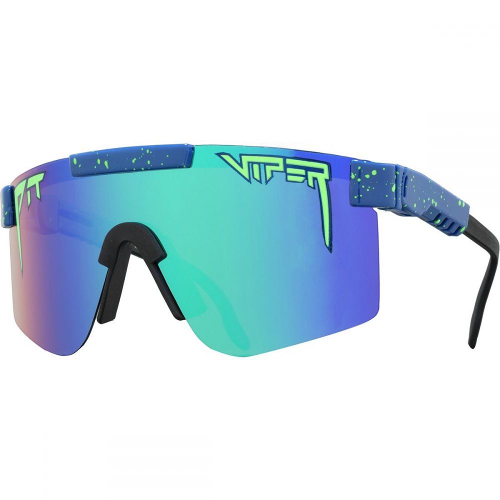 ピットバイパー Pit Viper メンズ メガネ・サングラス【Polarized Sunglasses】The Leonardo Polarized Revo (Polarized Blue Green Mirror)
