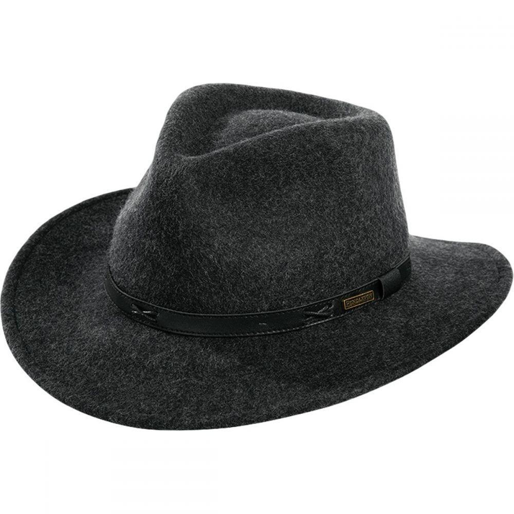ペンドルトン Pendleton レディース 帽子 ハット【Indiana Hats】Charcoal