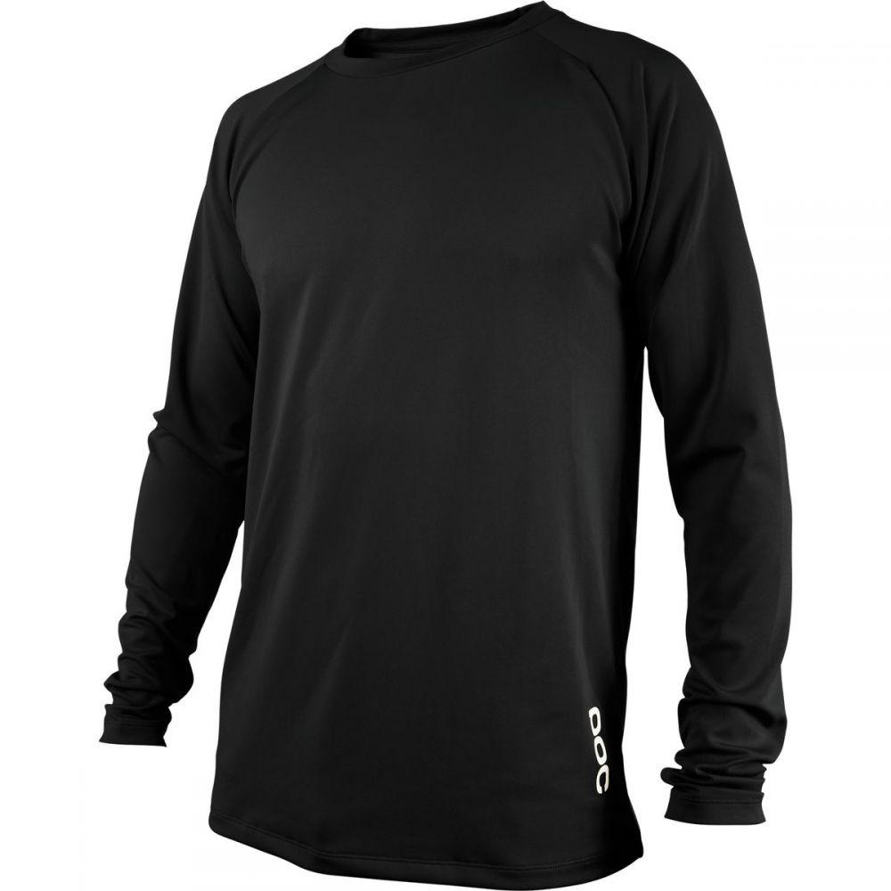 ピーオーシー POC メンズ 自転車 トップス【Resistance DH Long-Sleeve Jerseys】Carbon Black