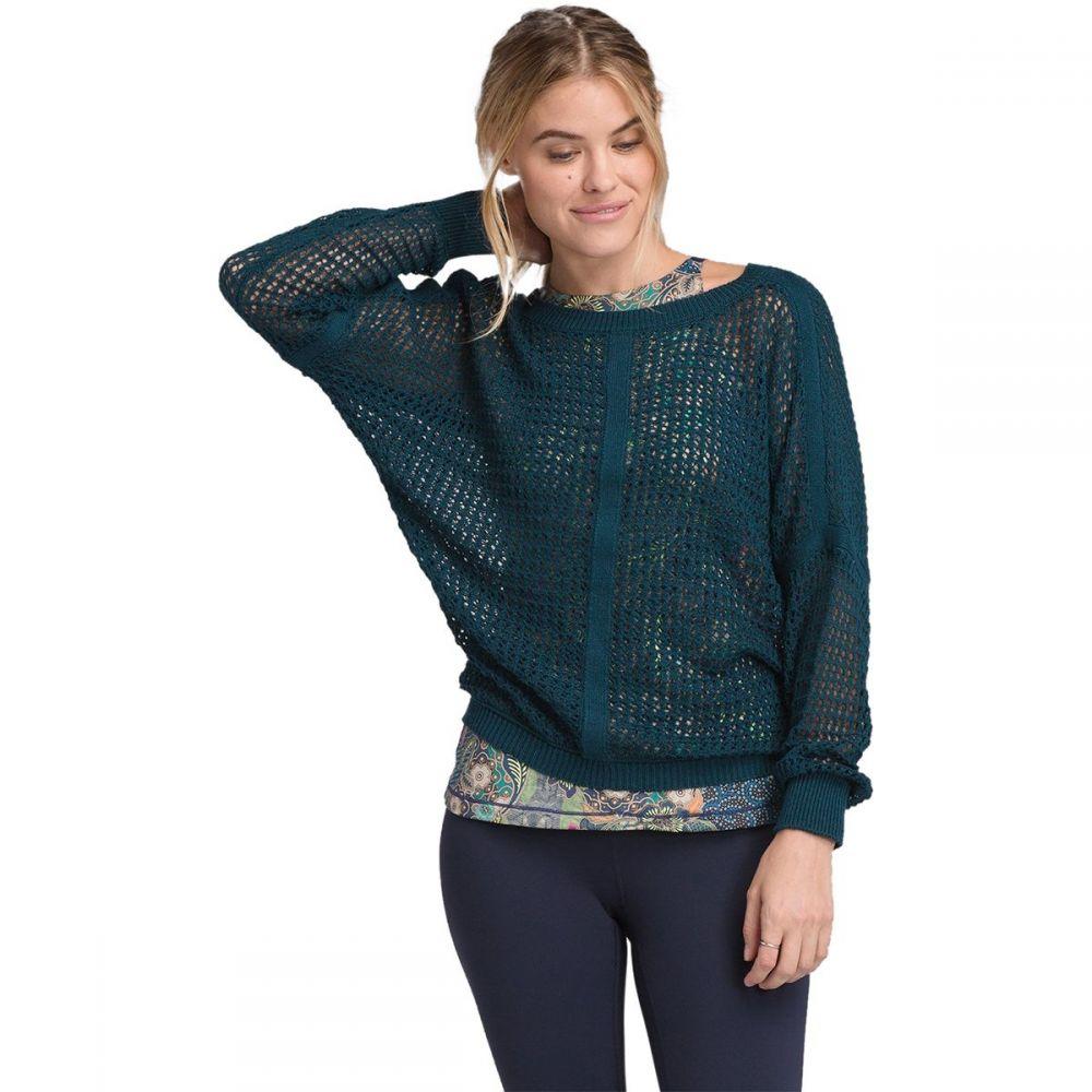 プラーナ Prana レディース トップス ニット・セーター【Sharla Sweater】Petrol Blue