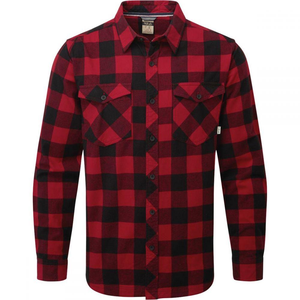 ラブ Rab メンズ トップス シャツ【Boundary Flannel Shirts】Autumn Red/Black