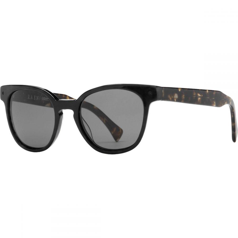 ラエンオプティックス RAEN optics レディース スポーツサングラス【Squire 53 Polarized Sunglasses】Matte Black/Matte Brindle/Green