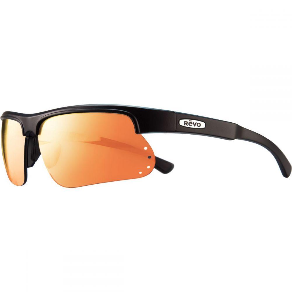 レヴォ Revo メンズ スポーツサングラス【Cusp S Polarized Sunglassess】Matte Black/Grey/Graphite