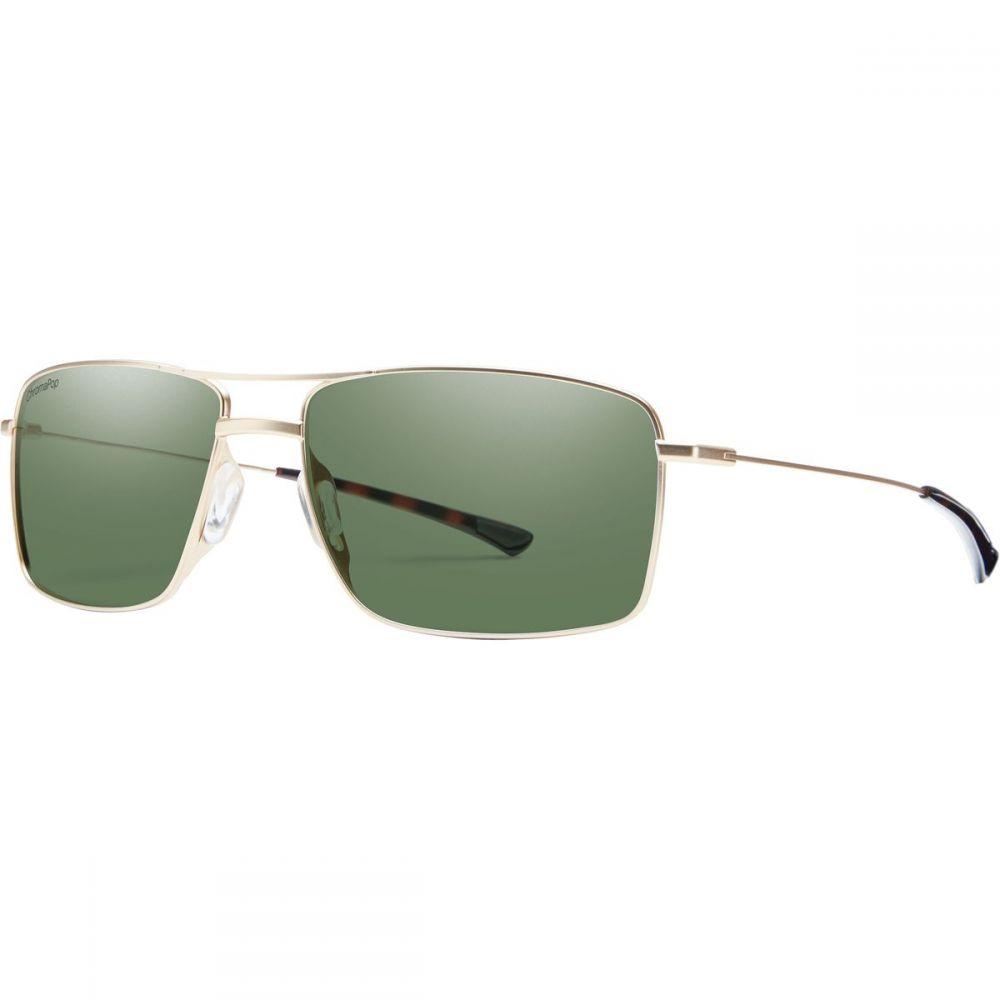 スミス Smith メンズ メガネ・サングラス【Turner Sunglassess】Matte Gold/Polarized Gray Green