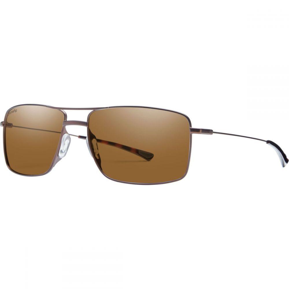 スミス Smith メンズ メガネ・サングラス【Turner Sunglassess】Matte Brown/Polarized Brown