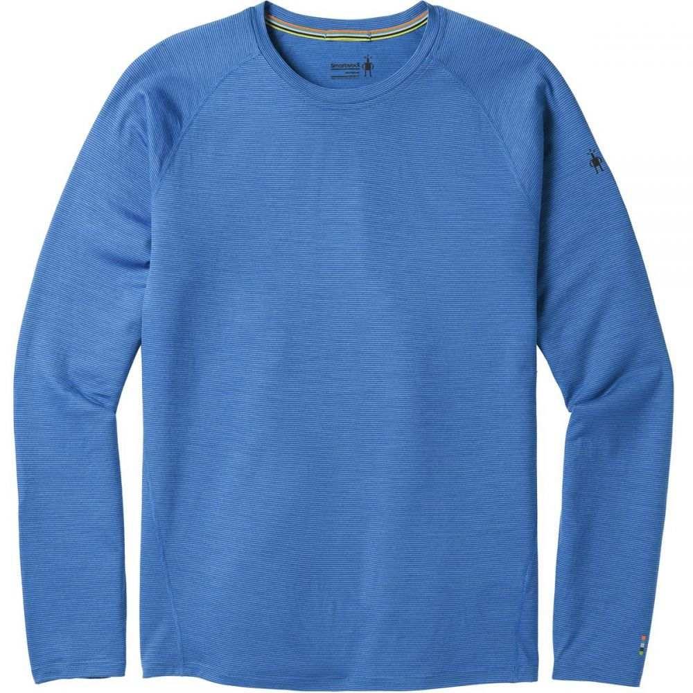 スマートウール Smartwool メンズ トップス【Merino 150 Pattern Long-Sleeve Baselayers】Bright Cobalt