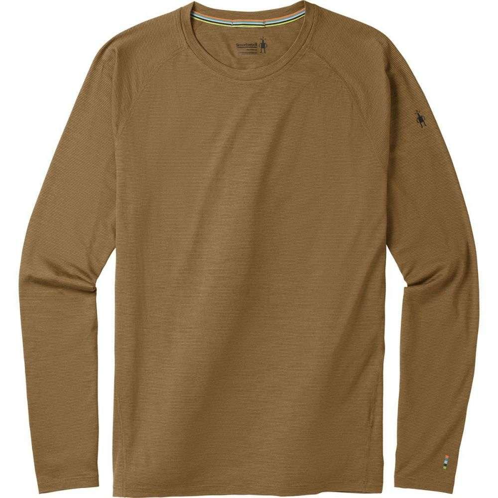 スマートウール Smartwool メンズ トップス【Merino 150 Pattern Long-Sleeve Baselayers】Dark Desert Sand
