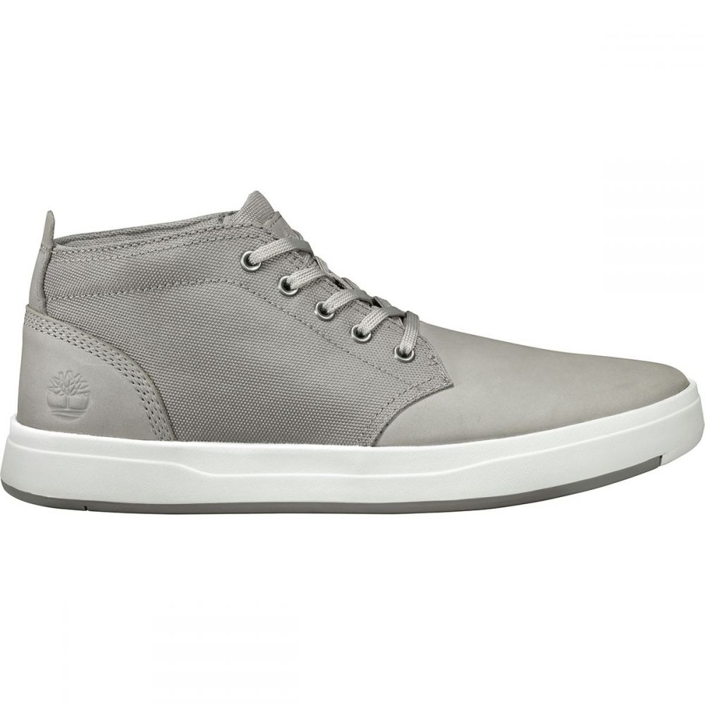ティンバーランド Timberland メンズ シューズ・靴【Davis Square Fabric & Leather Chukkas】Medium Grey Nubuck