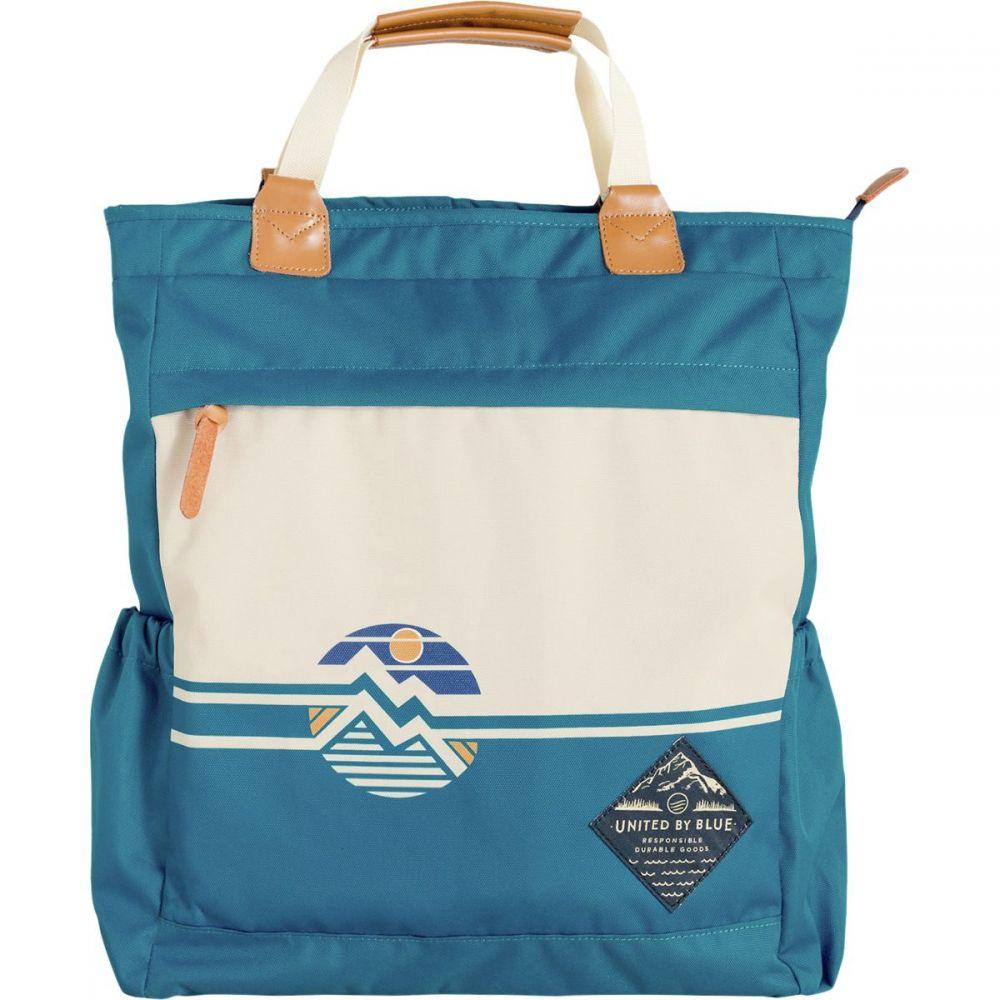 ユナイテッドバイブルー United by Blue レディース バッグ トートバッグ【Horizon Summit Convertible Tote Pack】Lagoon Blue