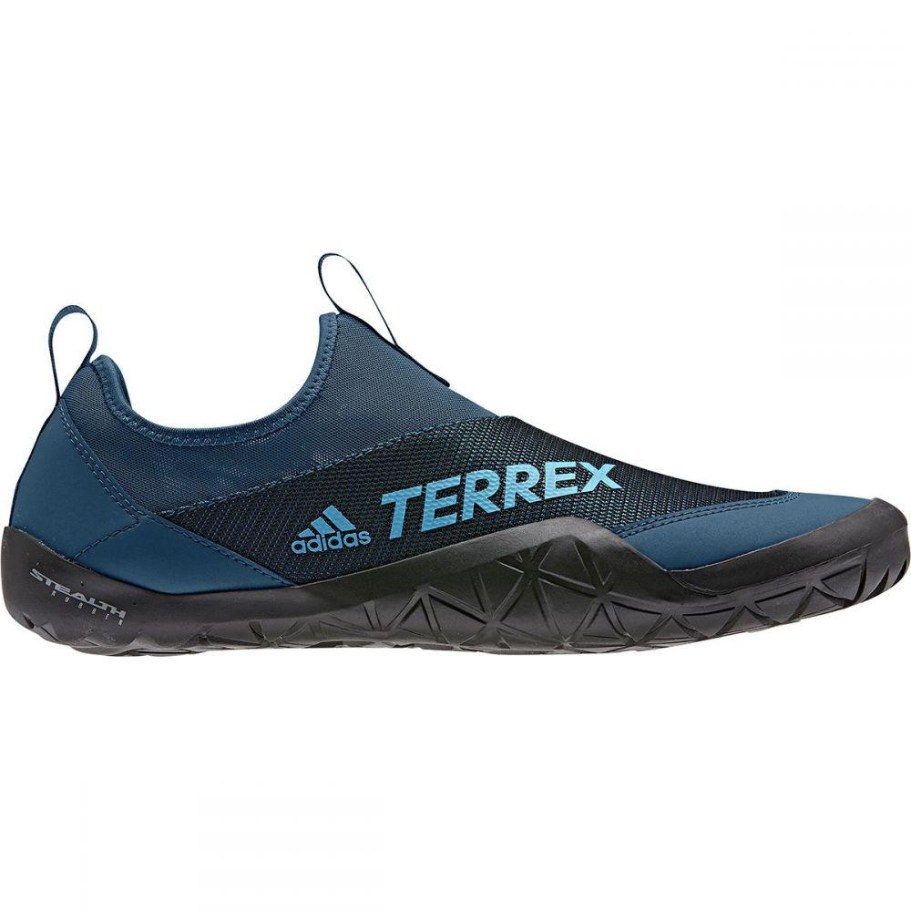 アディダス Adidas Outdoor メンズ シューズ・靴 ウォーターシューズ【Terrex CC Jawpaw II Slip On Water Shoes】Legend Marine/Shock Cyan/Black