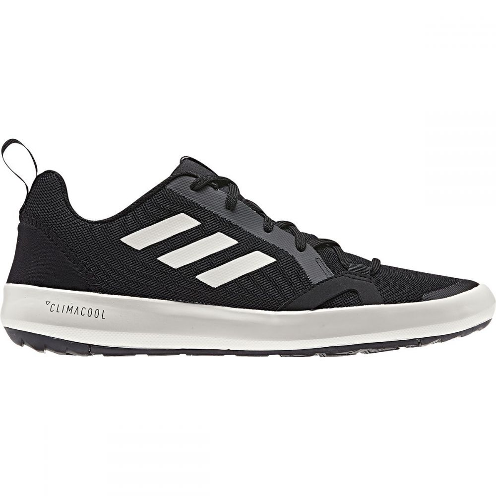 アディダス Adidas Outdoor メンズ シューズ・靴 ウォーターシューズ【Terrex CC Boat Water Shoes】Black/Chalk White/Black
