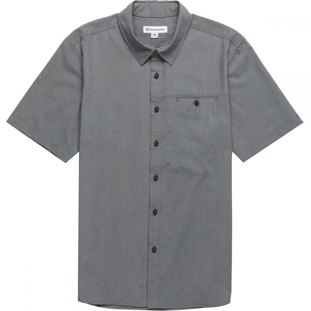 バックカントリー Backcountry メンズ トップス【San Rafael Active Shirts】Smoked Gray