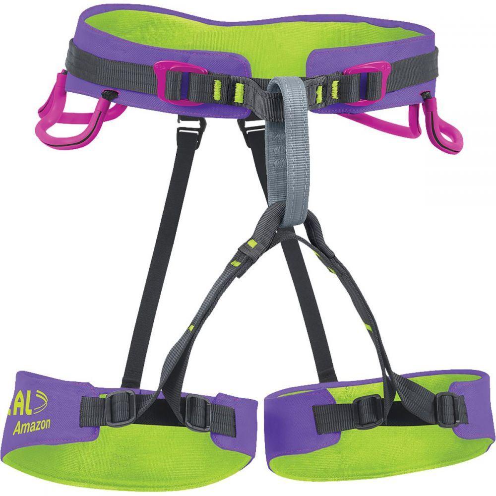 ベアール Beal レディース クライミング【Amazon Harness】Purple/Green
