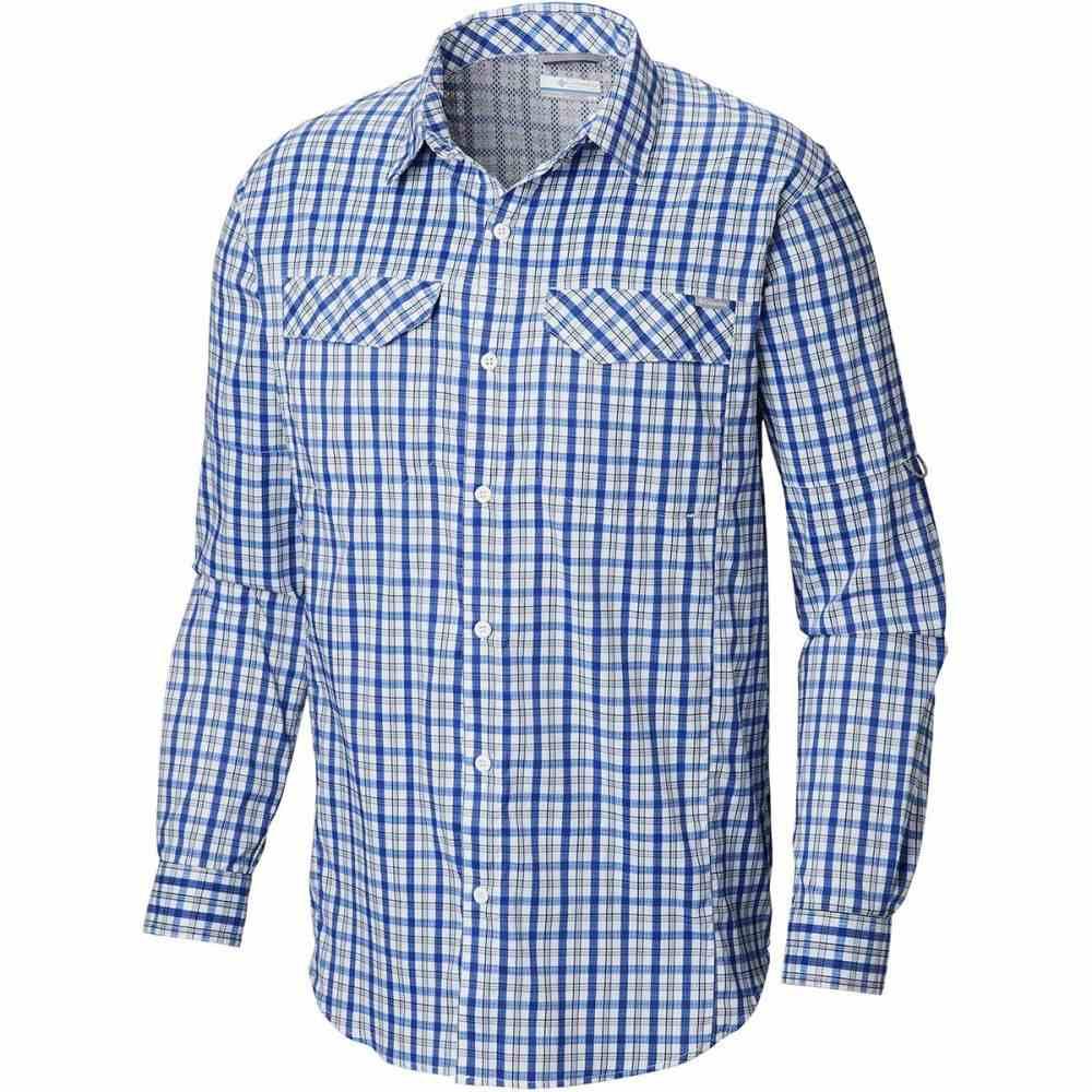 コロンビア Columbia メンズ トップス シャツ【Silver Ridge Lite Plaid Long-Sleeve Shirts】Azul Gingham