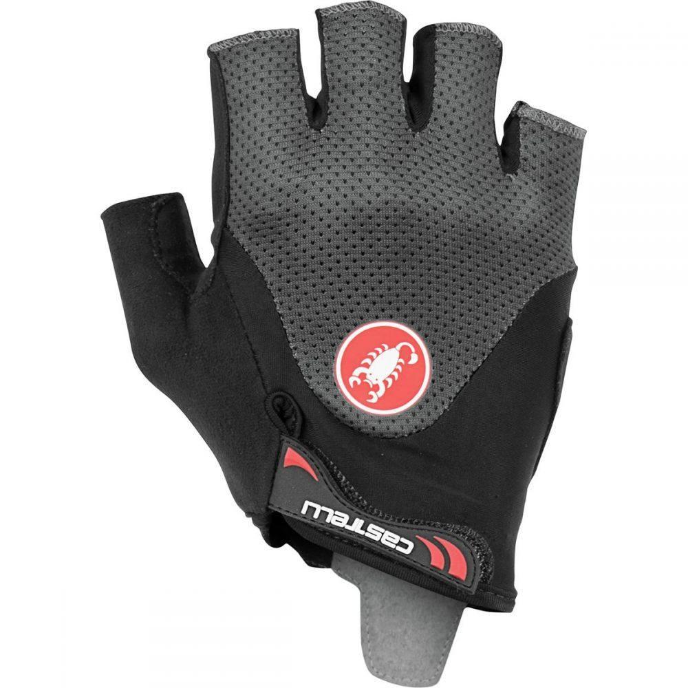 カステリ Castelli メンズ 自転車 グローブ【Arenberg Gel 2 Gloves】Dark Gray