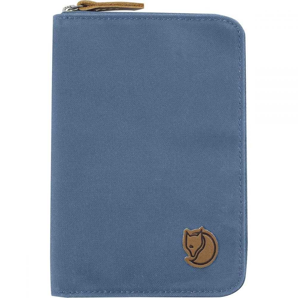 フェールラーベン Fjallraven レディース パスポートケース【Passport Wallet】Blue Ridge