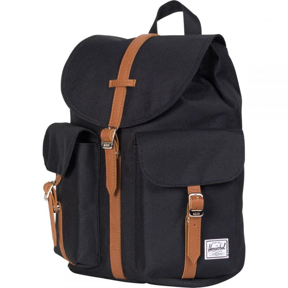 ハーシェル サプライ Herschel Supply レディース バッグ バックパック・リュック【Dawson 13L Backpack】Black/Tan Synthetic Leather