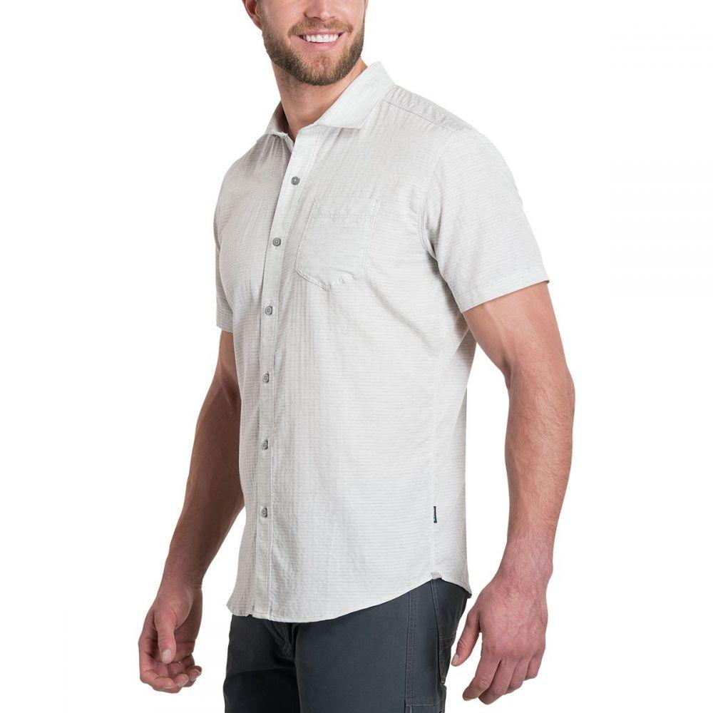 キュール KUHL メンズ トップス 半袖シャツ【Riveara Short-Sleeve Shirts】Ash