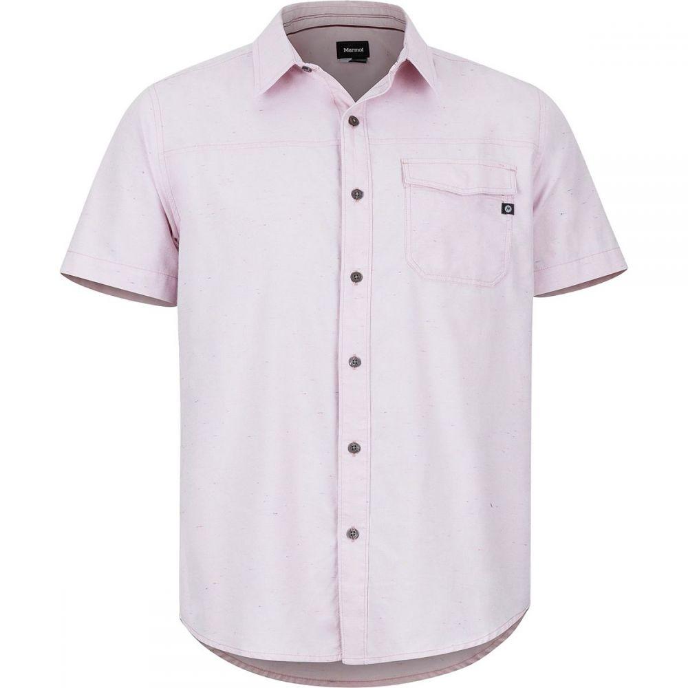 マーモット Marmot メンズ トップス 半袖シャツ【Tumalo Short-Sleeve Shirts】Pink Sand