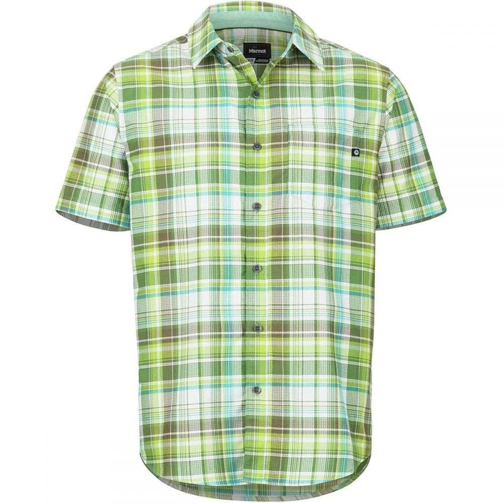 マーモット Marmot メンズ トップス 半袖シャツ【Syrocco Short-Sleeve Shirts】Pond Green