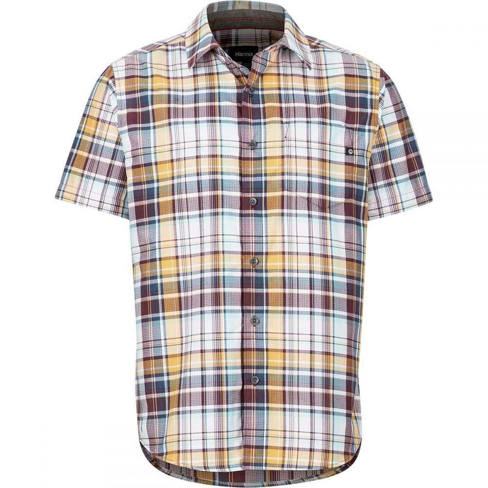マーモット Marmot メンズ トップス 半袖シャツ【Syrocco Short-Sleeve Shirts】Sienna Red