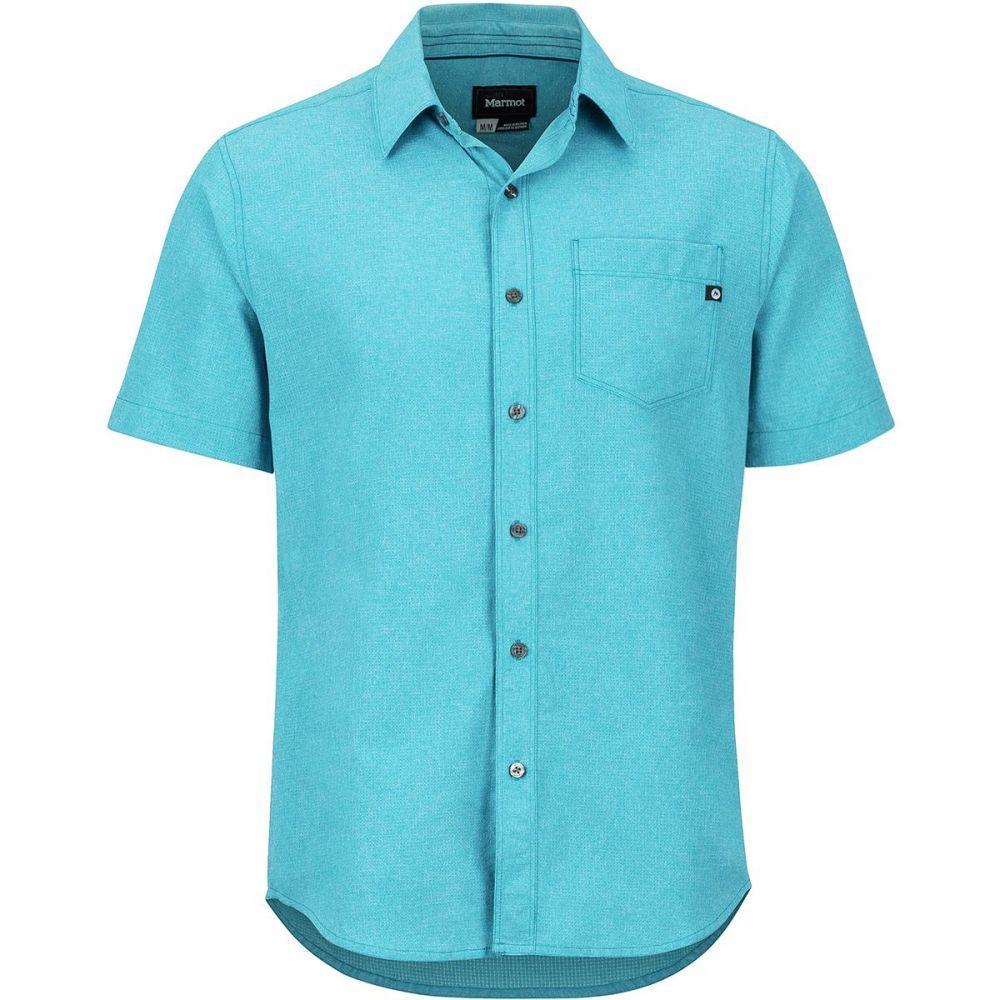 マーモット Marmot メンズ トップス 半袖シャツ【Aerobora Short-Sleeve Shirts】Turkish Tile