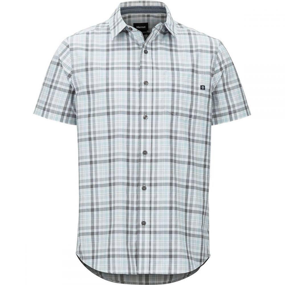 マーモット Marmot メンズ トップス 半袖シャツ【Meeker Short-Sleeve Shirts】Bright Steel
