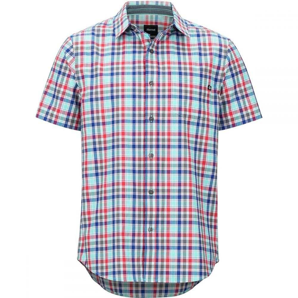 マーモット Marmot メンズ トップス 半袖シャツ【Meeker Short-Sleeve Shirts】Skyrise