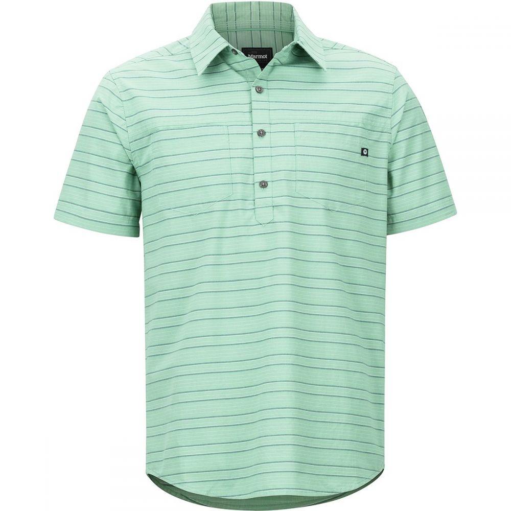 マーモット Marmot メンズ トップス 半袖シャツ【Euclid Short-Sleeve Shirts】Pond Green