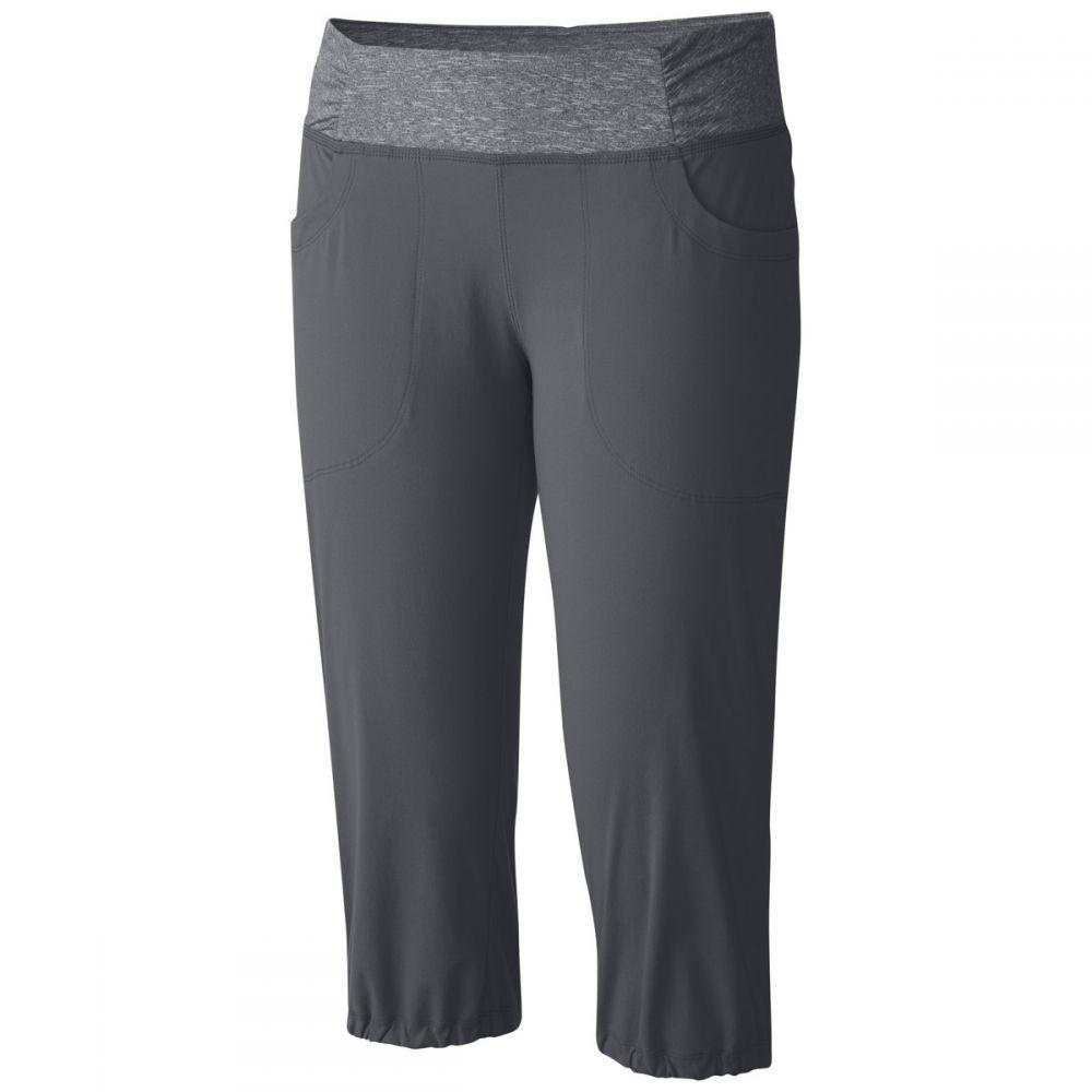 マウンテンハードウェア Mountain Hardwear レディース ハイキング・登山 ボトムス・パンツ【Dynama Capri Pant】Graphite