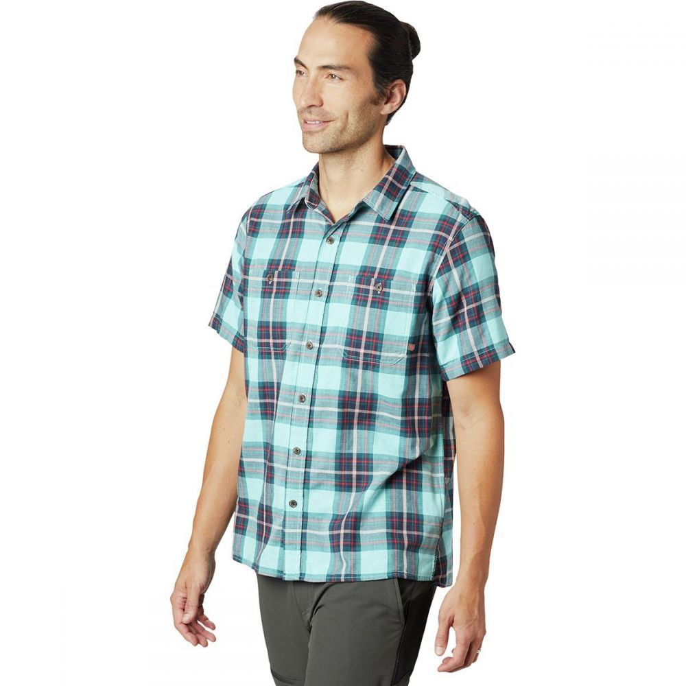 マウンテンハードウェア Mountain Hardwear メンズ トップス 半袖シャツ【Sinks Canyon Short-Sleeve Shirts】Eddy