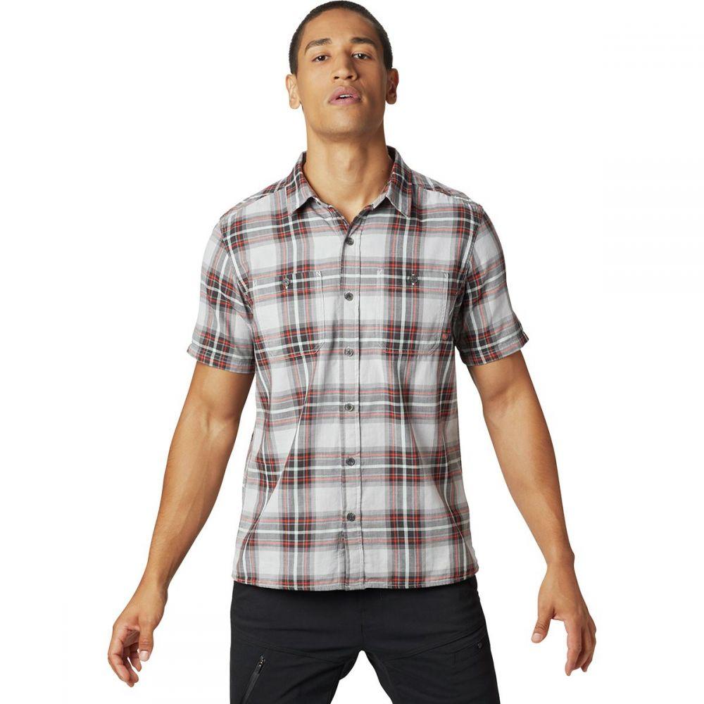 マウンテンハードウェア Mountain Hardwear メンズ トップス 半袖シャツ【Sinks Canyon Short-Sleeve Shirts】Grey Ice