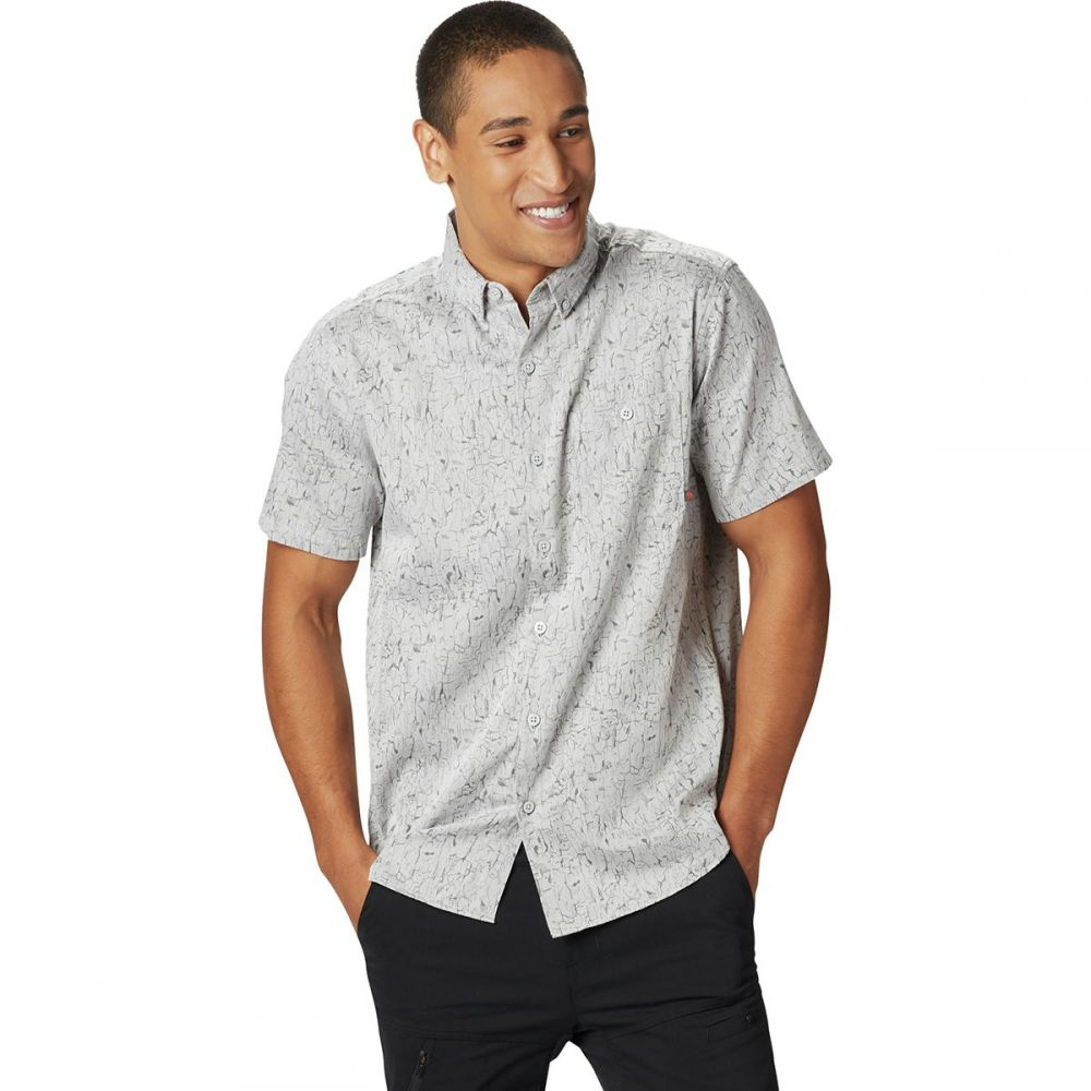 マウンテンハードウェア Mountain Hardwear メンズ トップス 半袖シャツ【Mount Adams Short-Sleeve Shirts】Fogbank