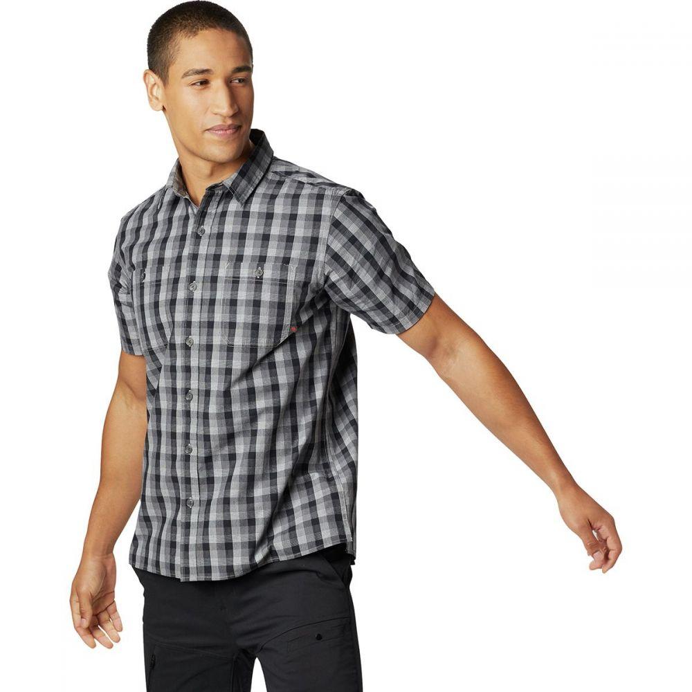 マウンテンハードウェア Mountain Hardwear メンズ トップス 半袖シャツ【Little Cottonwood Short-Sleeve Shirts】Black
