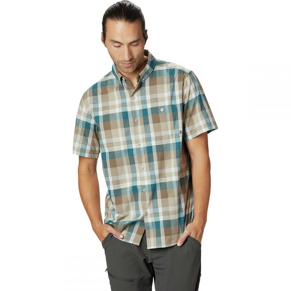 マウンテンハードウェア Mountain Hardwear メンズ トップス 半袖シャツ【Big Cottonwood Short-Sleeve Shirts】Darklands