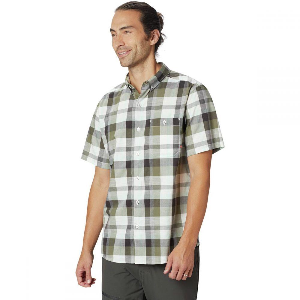 マウンテンハードウェア Mountain Hardwear メンズ トップス 半袖シャツ【Big Cottonwood Short-Sleeve Shirts】Dark Army