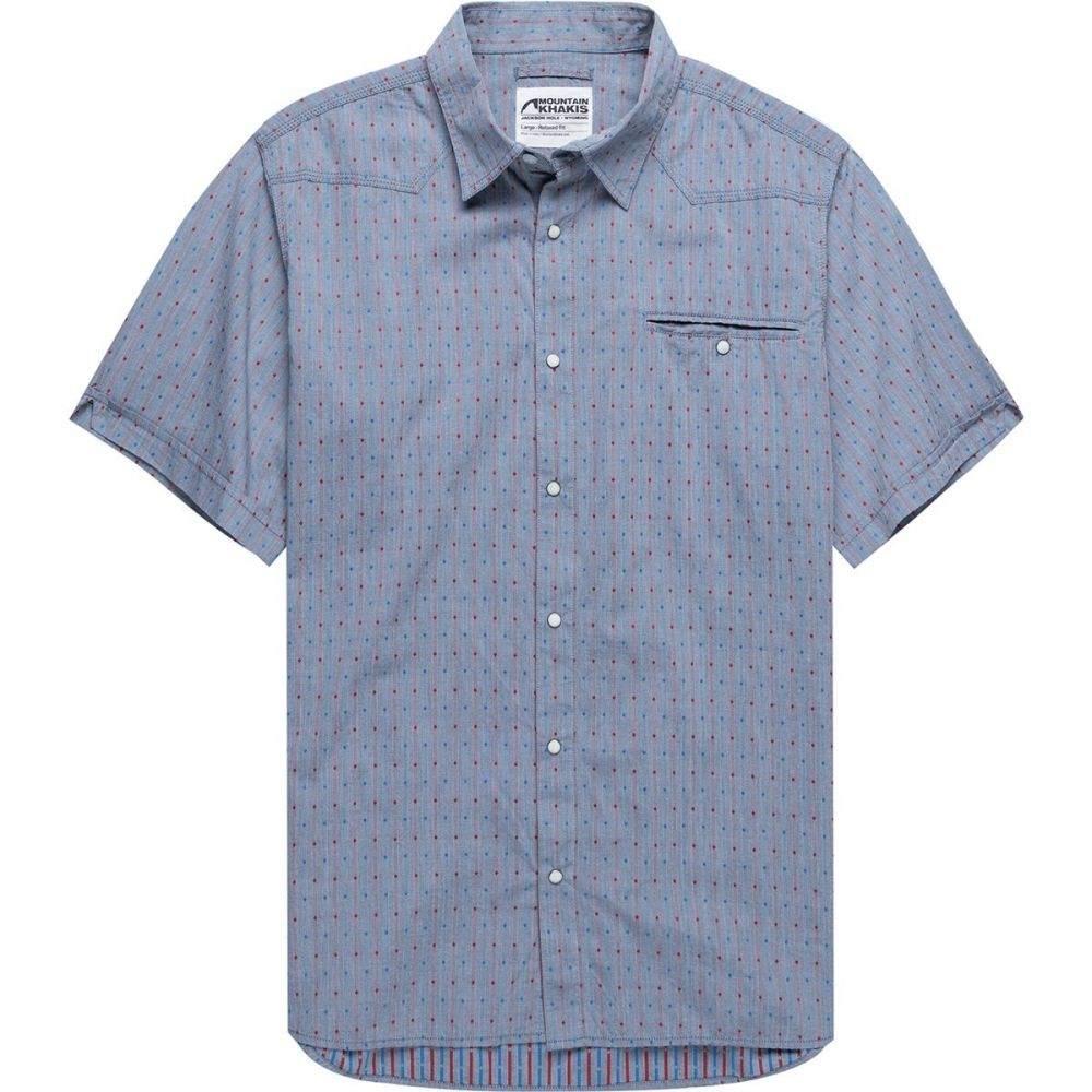 マウンテンカーキス Mountain Khakis メンズ トップス 半袖シャツ【El Camino Short-Sleeve Shirts】Twilight