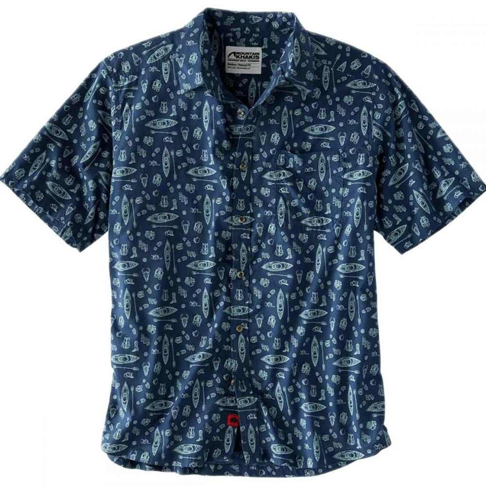 マウンテンカーキス Mountain Khakis メンズ トップス 半袖シャツ【Adventurist Signature Print Shirts】Twilight