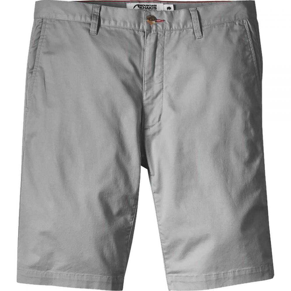 マウンテンカーキス Mountain Khakis メンズ ハイキング・登山 ボトムス・パンツ【Jackson Chino Shorts】Gunmetal