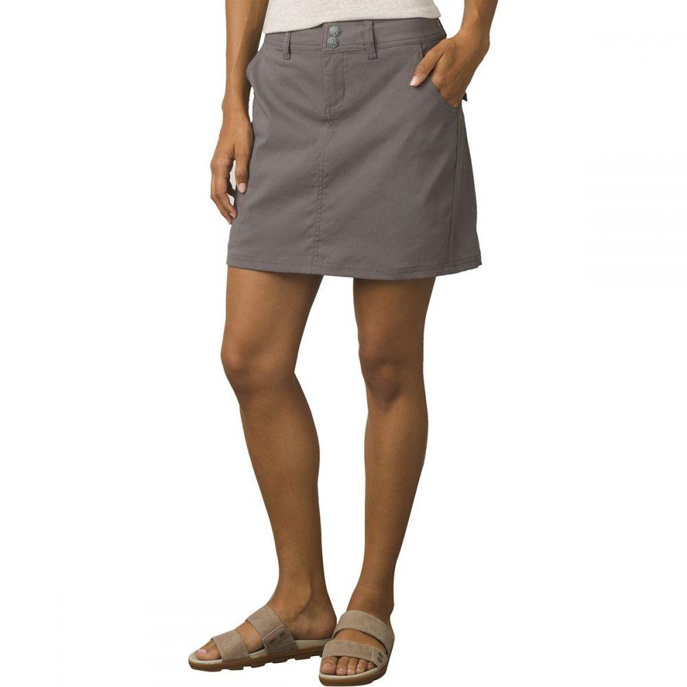 プラーナ Prana レディース スカート ミニスカート【Halle Skort】Moonrock