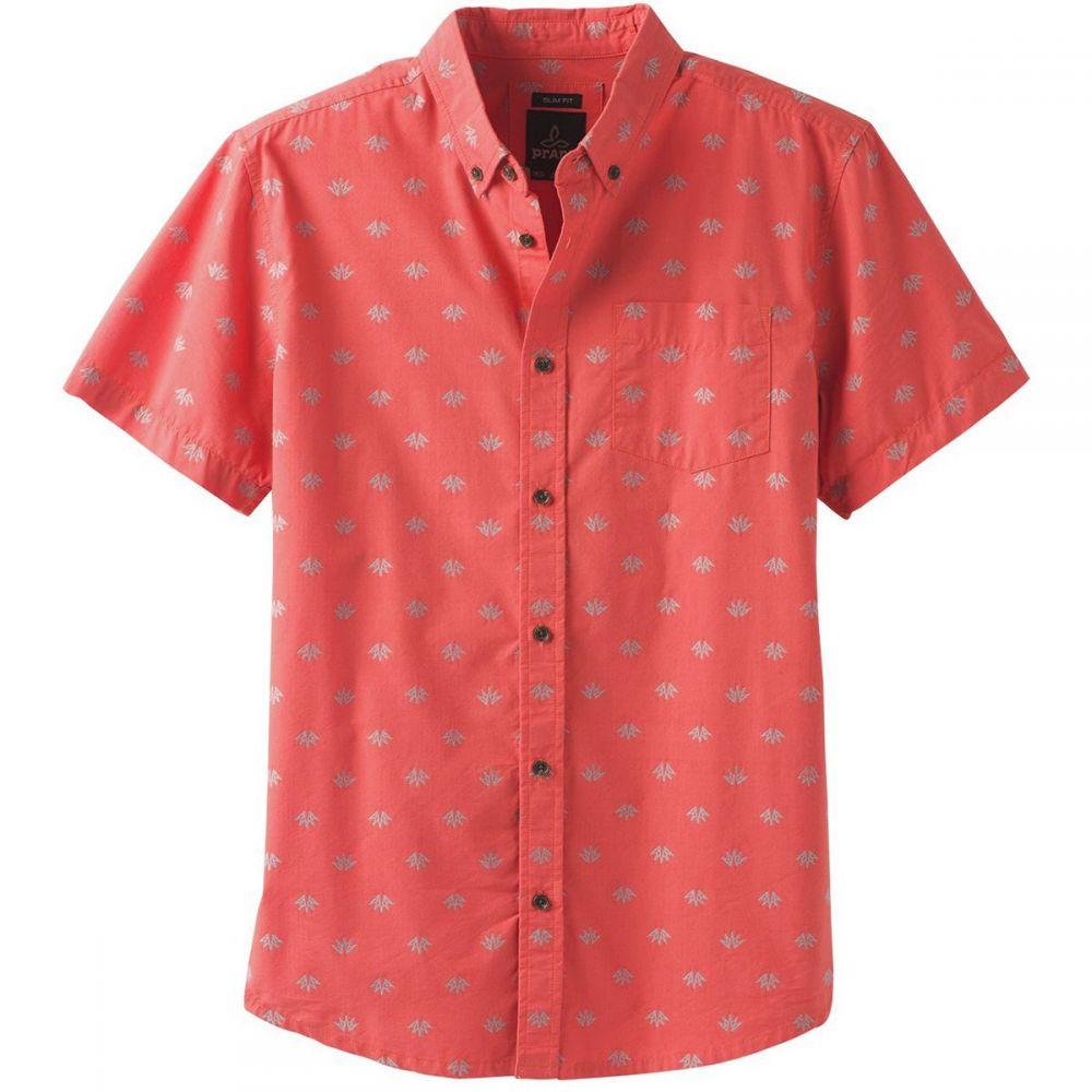 プラーナ Prana メンズ トップス 半袖シャツ【Broderick Slim Short-Sleeve Shirts】Koi